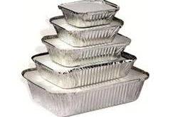 پخش ظروف یکبار مصرف آلومینیومی درب دار