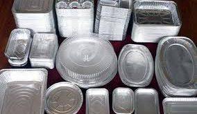 فروش عمده محصولات ظروف یکبار مصرف آلومینیومی