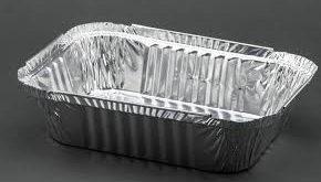 ظروف یکبار مصرف آلومینیومی تک پرسی